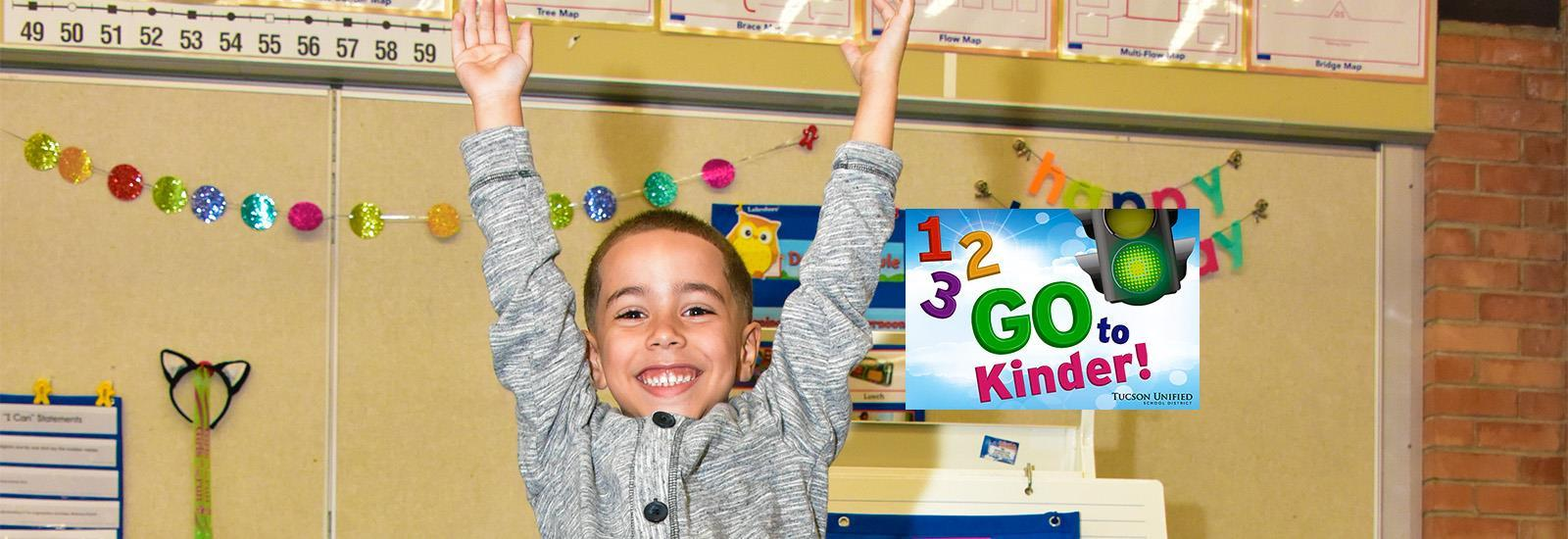 Get ready for kindergarten<br> with free all-day K!