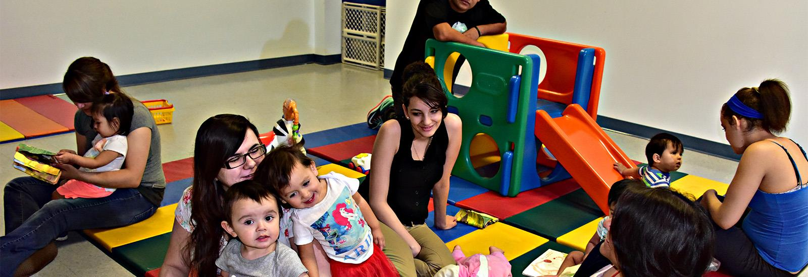 The school offers nurseries and staff who love of working with infants and toddlers.
