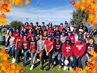 Girls' Basketball performed Community Service at Family Festival for City of Tucson Parks and Recreation.