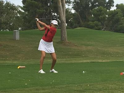Angelica Martinez, AIA State Girls' Golf Tournament