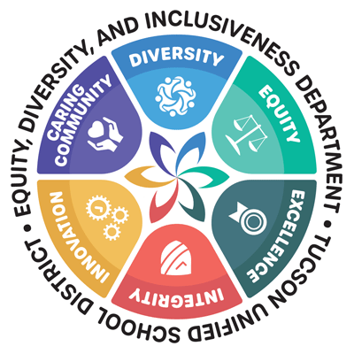 Equity, Diversity, and Inclusiveness Department Logo