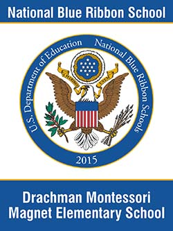 U.S. Department of Education, 2015 National Blue Ribbon School, Drachman Montessori Magnet Elementary School