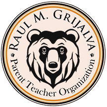 Raul M. Grijalva Parent Teacher Organization Logo