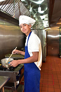 Photo of Culinary Student