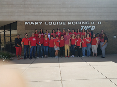 The Amazing staff at Robins K-8