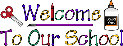 image that says welcome back to school