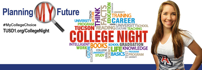 College Night logo #MyCollegeChoice