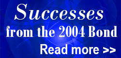 Success from the 2004 Bond - Click Read More!