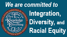 We are committed to integration, diversity, and racial equity.