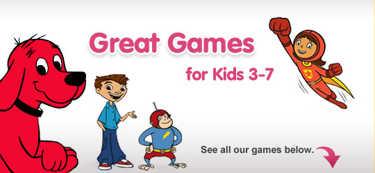 Great Games for Ages 3-7
